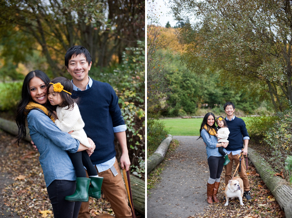 Fall Family Portraits Seattle